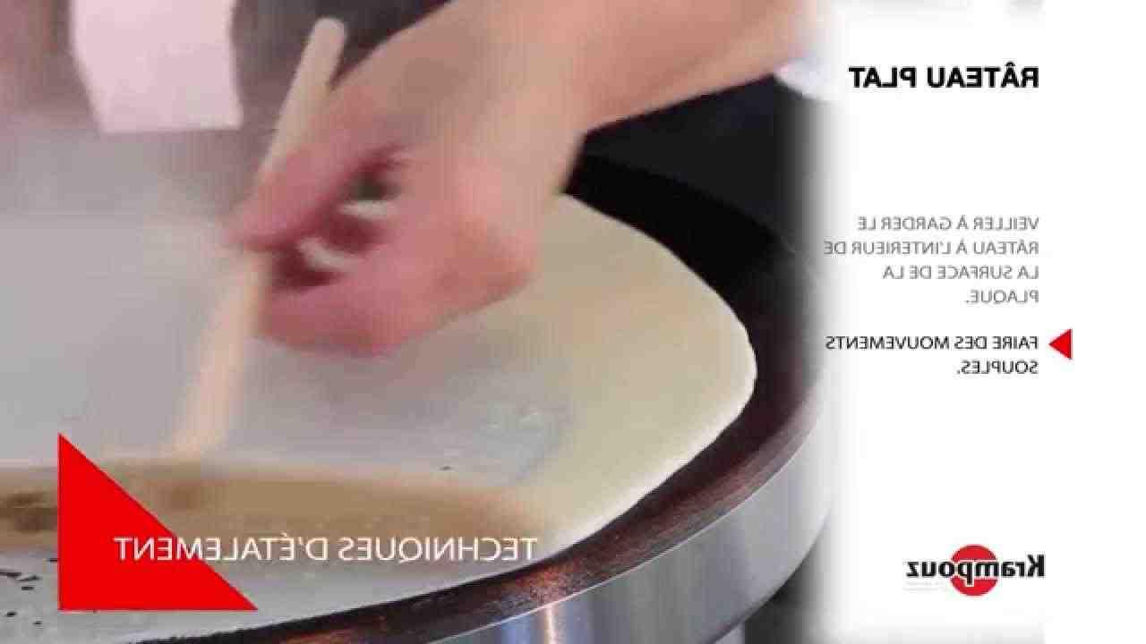 Comment utiliser un râteau pour les crêpes?